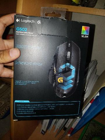 WTS MOUSE GAMING LOGITECH! g502 spectrum