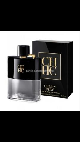 Parfum Original Bergaransi Eropa nonbox Carolina Herrera CH Prive for men Edt 100ml