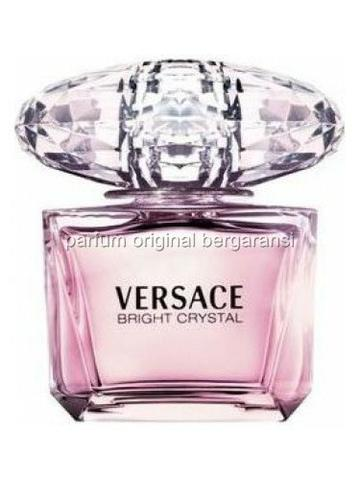 Parfum Original Bergaransi Eropa Versace Bright Crystal Edt 90ml