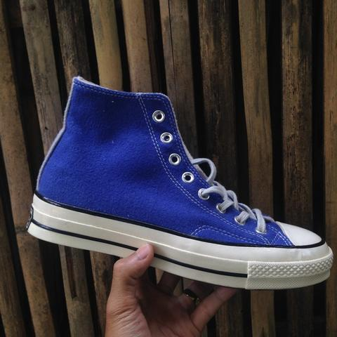 Converse CT 70s HI Amparo Blue/Dew Wool [Team Wool]