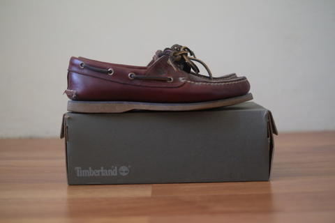 Terjual TIMBERLAND SLIP ON MEN S 2-EYE BOAT SHOES  91f568046a