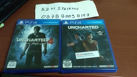 WTS UNCHARTED 4 & LOST LEGACY