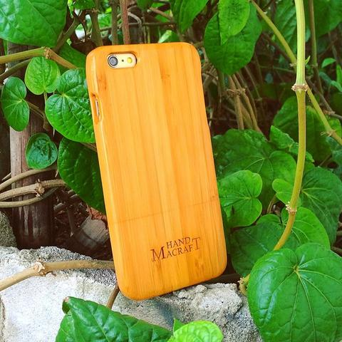 100% bambu Bamboo case for iPhone 6/6s plus