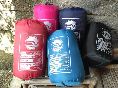 Sleeping bag polar tebal waterproof