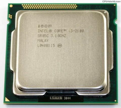 Intel core i3 2100 3,1 ghz