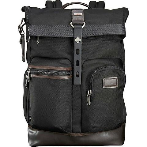 tas tumi luke roll top backpack 100% original bnwt not samsonite delsey  pacsafe 52ac261884