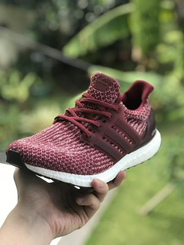outlet store f6c08 dd2fd Adidas Ultra Boost 3.0 Burgundy