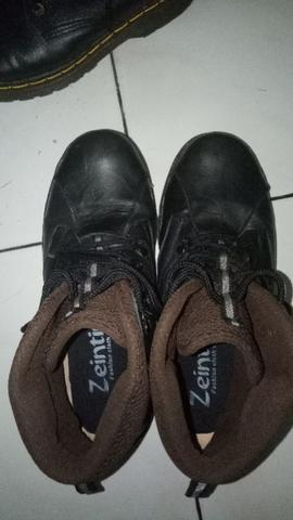 spatu boots / safety shoes pria zeintin size 40 second