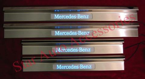 Door Sill Plate / Foot Step LED Mercedes Benz W124