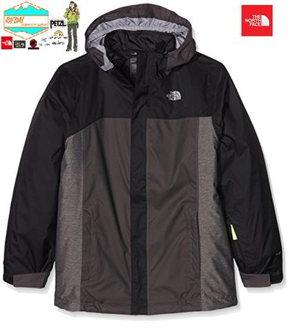 TNF THE NORTH FACE BOYS BOUNDARY ORIGINAL COLOUR BLACK SETARA XS MENS