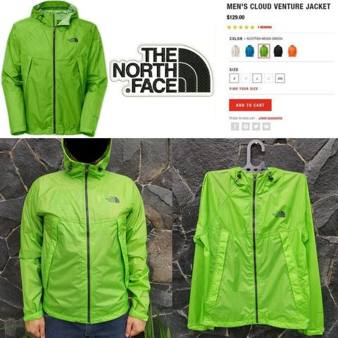 JAKET TNF|THE NORTH FACE CLOUD VENTURE OUTDOOR JACKET - MHW GORETEX BERGHAUS ARCTERYX