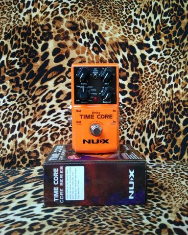 Efek Nux Time Core Delay And Looper Pedal