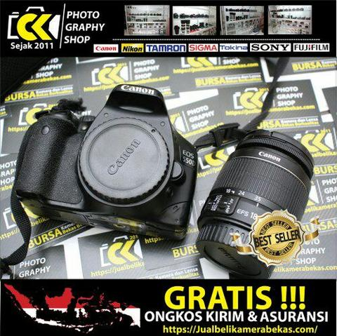 [CK PHOTOGRAPHY] Canon EOS 550D Kit 18-55mm IS II