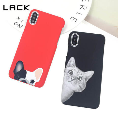 Aksesoris Lack Animal II Series Hard Case iPhone X
