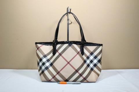 TAS BRANDED MEWAH BURBERRY LONDON BUR-254 NOVA SHOPPER TOTE
