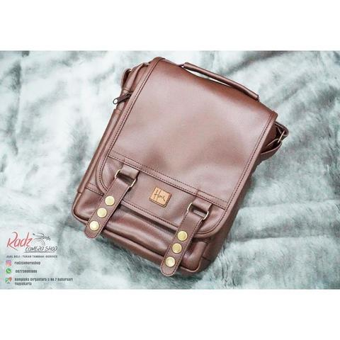 Tas Kamera Sling Bag - HNX 007 Brown