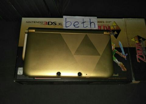 Nintendo 3DS XL Zelda Limited Edition