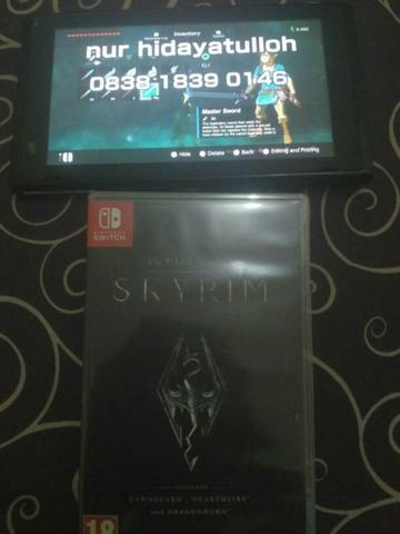 want to sell skyrim nintendo switch