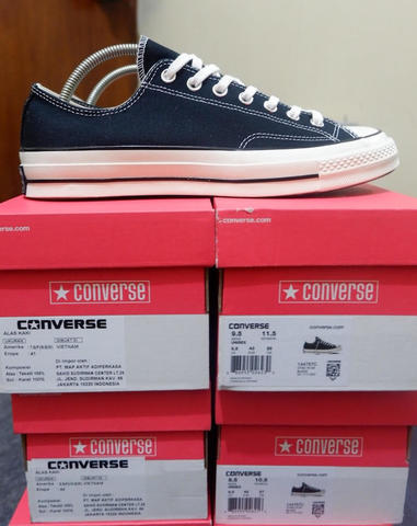 Converse 70s Black/White Low Size 41 - 43 BNIB 100% ORIGINAL