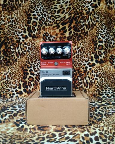 Digitech Hardwire DL-8 Delay And Looper Pedal.