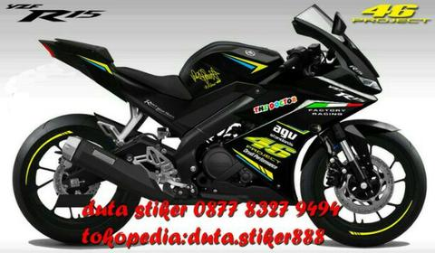 Cutting Sticker Yamaha R15 V3 ✓ Satu Sticker