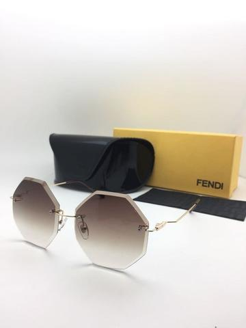 Kacamata Fendi 17117 Anti UV Sunglasses Persegi Wanita