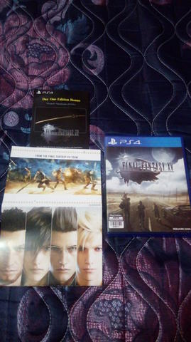WTS Final Fantasy XV Day One Edition & For Honor Deluxe Edition
