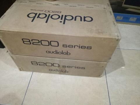Audiolab power 8200p + pream integrated 8200a