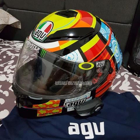 2nd Condition Helm AGV K3SV ELEMENT Seperti baru