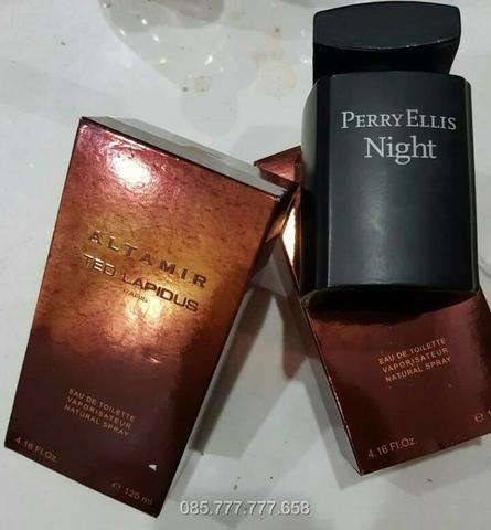 Parfum Original reject Eropa Perry Ellis Night & Ted Lapidus Altamir Box