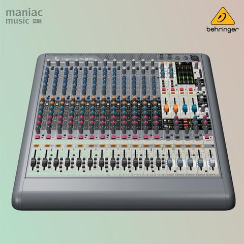 Behringer XL1600 (Live Mixer, 16 Input, Mic Preamp, Low Noise)