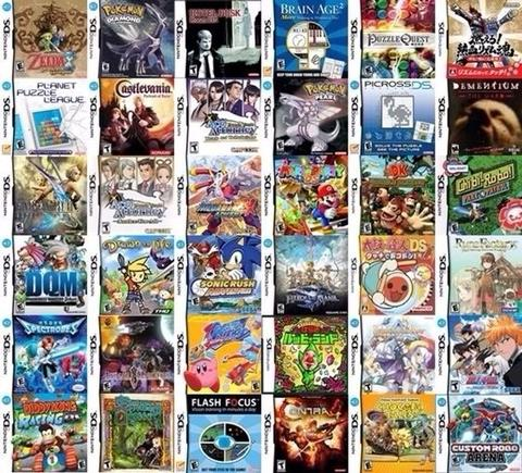 GAME NINTENDO DS / NDS LITE / NDS XL ( BISA REQUEST )