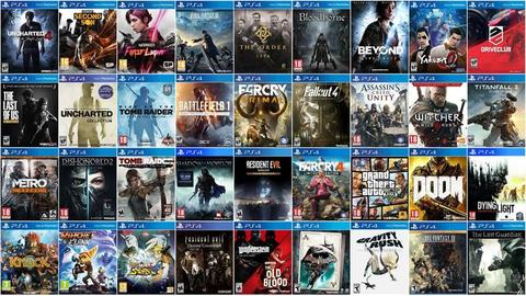 TERJUAL JASA DOWLOAD GAMES PS4 JAILBREAK READY 7 TB ALL WORKED