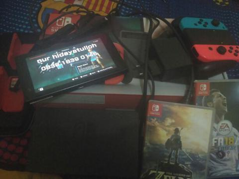 want to sell console nintendo switch