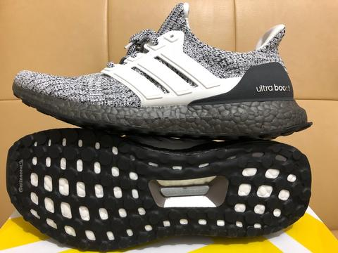 newest 80283 13941 Adidas Ultra Boost 4.0 Cookies & Cream Oreo
