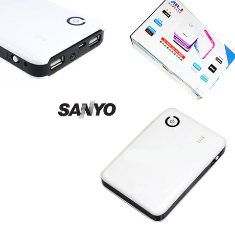 PowerBank AILI Battery Sample SANYO Original 10.000 mAH