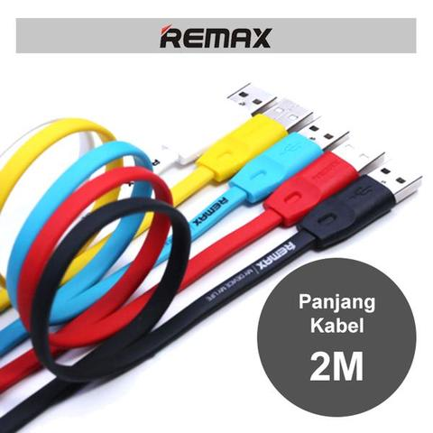 Remax Cable Full Speed 2m Micro Usb / Kabel Data High Speed Original Remax