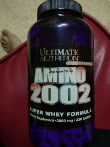 wts suplemen fitness amino 2002 ultimate nutrition used exp lama