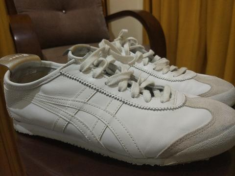 pretty nice 77b69 0e85f (White/ Silver) Onitsuka Tiger Mexico 66 Shoes ORIGINAL size 41,5