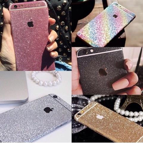 ALL TYPE Glitter Sticker / Sticker Glitter / Garskin / Skin Hp /Gliter