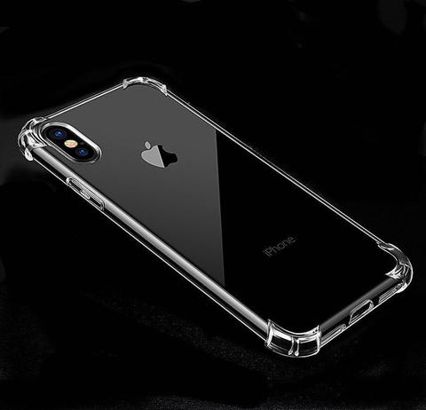 Anticrack Premium Antishock Case Silicon 1.5mm For iPhone 5 6 7 8 X