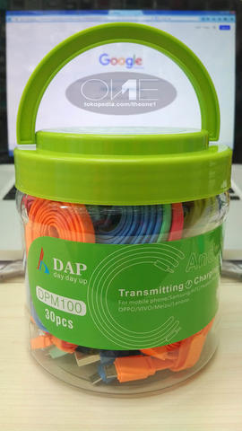 KABEL DATA ORIGINAL DAP 100 CM | DPM100 | MICRO USB | 1 TOPLES/TABUNG