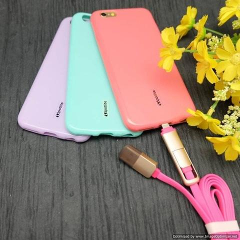 Oppo A39 | A57 | Case Candy Spotlite Original | Silikon Colorful