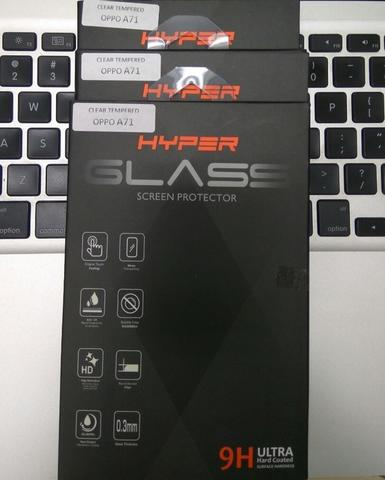 Oppo A71 Tempered Glass Hyper Anti Gores Screen Protector 9H 2.5D