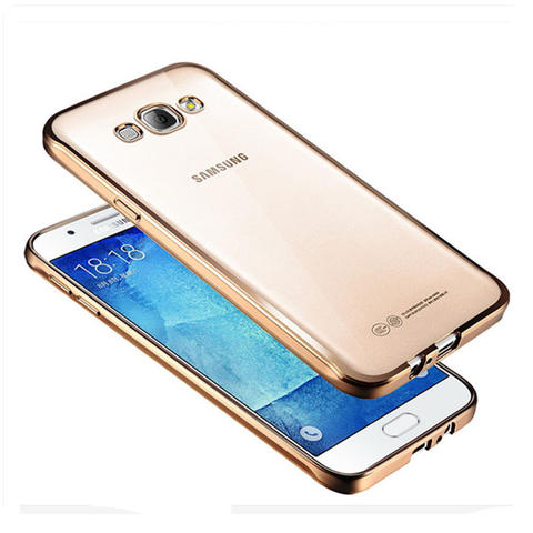 SAMSUNG J1 ACE | SHINING SOFT CASE CROME | SILICON / JELLY FIT