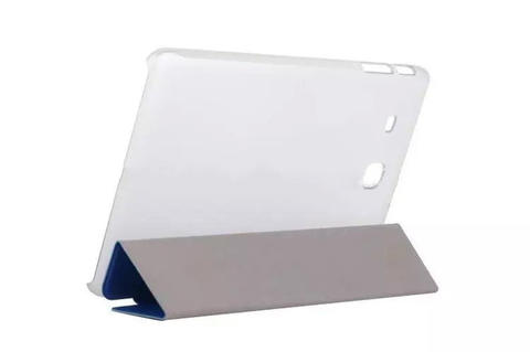 SAMSUNG TAB 3V/TAB 3 LITE | SMART CASE COVER | FLIP BOOK | TRANS COVER
