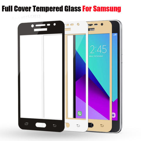 TEMPERED GLASS COLOR / WARNA J2 PRIME TEMPERED GLASS FULL COVER 3D
