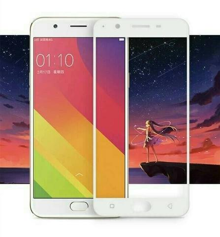 TEMPERED GLASS COLOR / WARNA OPPO A57 TEMPERED GLASS FULL COVER 3D