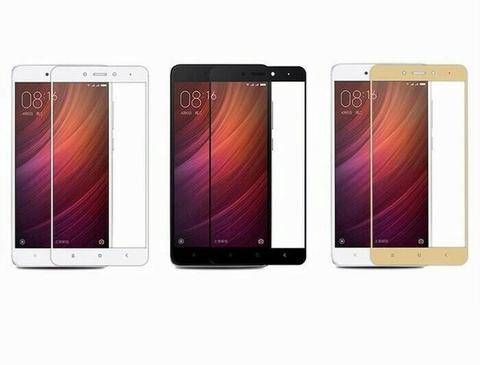 TEMPERED GLASS COLOR / WARNA REDMI 4X 4 X TEMPERED GLASS FULL COVER 3D