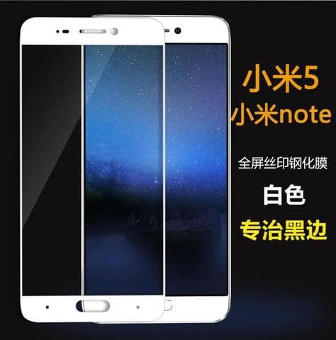 TEMPERED GLASS COLOR / WARNA XIAOMI MI 5S TEMPERED GLASS FULL COVER 3D